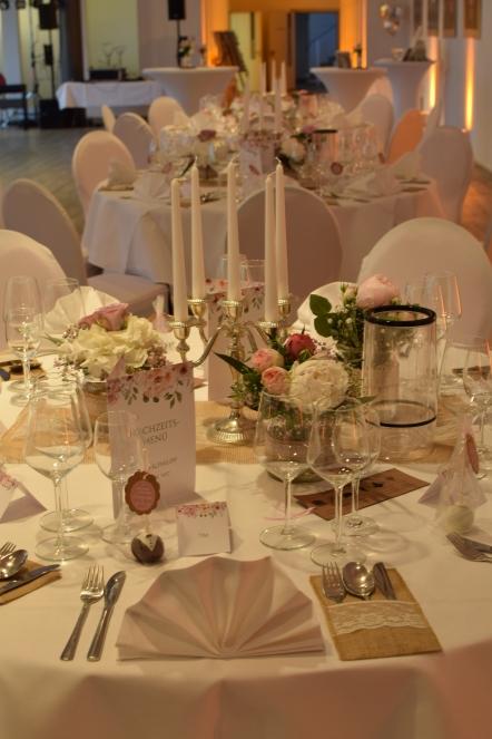 Unsere Hochzeit Vintage Tischdeko Thelifeofsvea